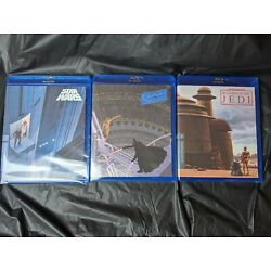 Kyпить Star Wars Despecialized Original Trilogy Theatrical Editions 6 BluRay NEW SEALED на еВаy.соm