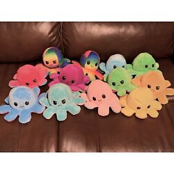 Kyпить Reversible Flip Octopus Plush Stuffed Toy Soft Animal Home Accessories Baby Gift на еВаy.соm