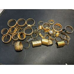 Kyпить  Antique Vintage Gold Filled Fountain Pen Bands / Rings You get All на еВаy.соm
