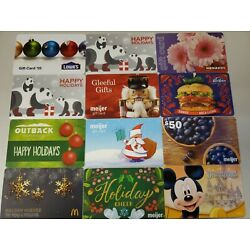 Kyпить 144 Collectible Gift Cards LOT B.  No Value  Used. Mostly Holiday Themed. на еВаy.соm