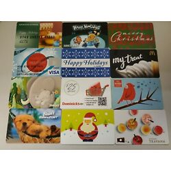 Kyпить 144 Collectible Gift Cards LOT C.  No Value  Used. Mostly Holiday Themed. на еВаy.соm