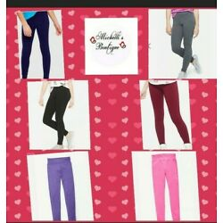 Kyпить Justice Girls. Full Length Classic Leggings.  Sizes from 6 to 20 Plus. на еВаy.соm