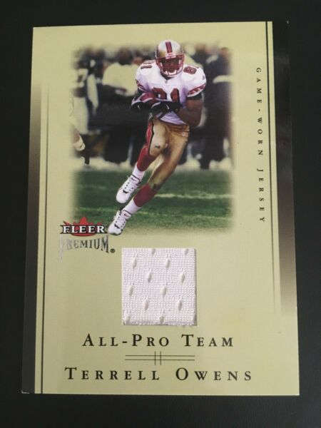 Haar,Deutschland2002 Fleer Premium All Pro Team Jerseys TEOW Terrell Owens