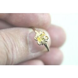 Kyпить 14k Yellow Sapphire Ring Size 8 - Natural Sapphire - Birthstone for September на еВаy.соm