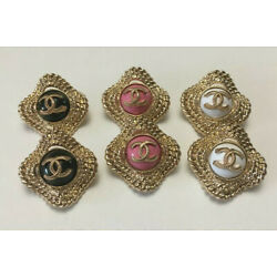 Kyпить Set of 6 Chanel buttons 22mm, stamped на еВаy.соm