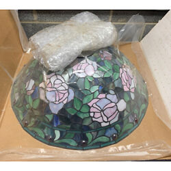 """Kyпить 22.5"""" Maybe Quoizel Collectibles Tiffany Style Stained Leaded Glass Lamp Shade на еВаy.соm"""