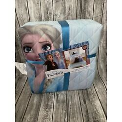 Kyпить Disney Frozen 2 Twin Full Quilt And Sham New Elsa Ana на еВаy.соm