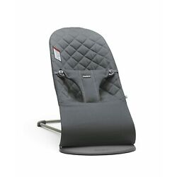 Kyпить BabyBjörn Bouncer Bliss, Quilted Cotton, Anthracite на еВаy.соm