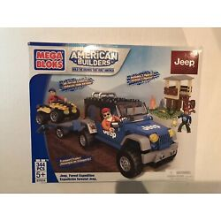 Kyпить Mega Bloks Jeep Wrangler ATV Set Forest Expedition #97834 - 344 Pieces - New  на еВаy.соm