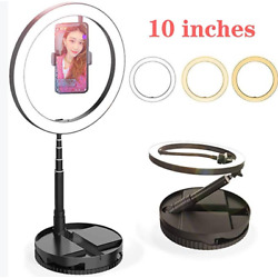 Kyпить 12 inch LED Ring Light With Tripod Stand Dimmable For Phone Live Light Make Up на еВаy.соm