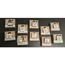 Kyпить Dr Squatch Soap Sample Size Pack of 8 Mixed Scents NO REPEATS 1 Limited Edition на еВаy.соm
