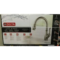 Kyпить Delta Leland 19978Z-SS-DST Brilliance Stainless Finish Pull Down Kitchen Faucet на еВаy.соm