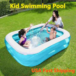 Kyпить Children Inflatable Swimming Pool Large Family Summer Outdoor Play PVC Pool Kids на еВаy.соm