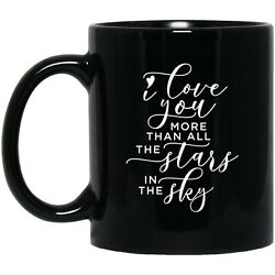 Coffee Mug - I Love You More Than All The Stars In The Sky