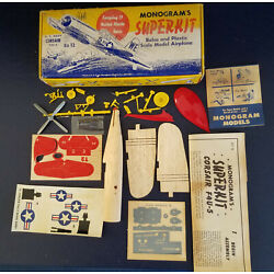 Kyпить Vintage Monogram Superkit Corsair Toy Airplane Model T2 на еВаy.соm