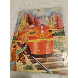 Kyпить saalfield puzzle train and cowboy george nickel made in the usa на еВаy.соm