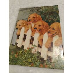 Kyпить vintage cardboard puzzle made by e.e.fairchild corp rochester ny puppies на еВаy.соm