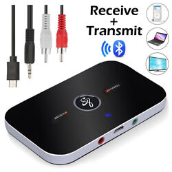 Kyпить Bluetooth Transmitter & Receiver Wireless Adapter For Home stereos/speakers на еВаy.соm