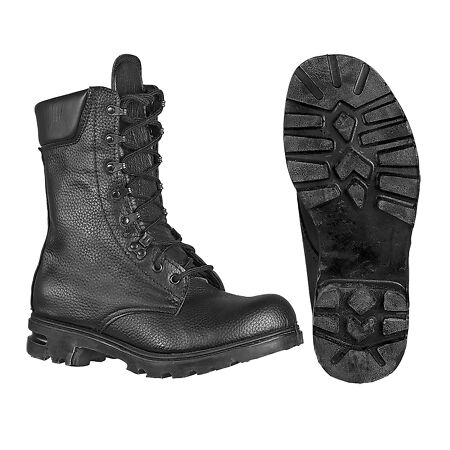 img-Army Boot Genuine Dutch Military Combat Leather High Leg Tactical Hiking Work