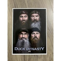 Duck Dynasty Sticker Decal Group Family Face 2.75 x3.75  Official Licensed NEW
