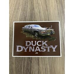 Duck Dynasty Sticker Decal Camo Limo Robertson  2.75 x3.75  Licensed NEW