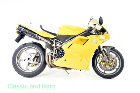 Ducati 748R 2001 Fantastic example with very low mileage