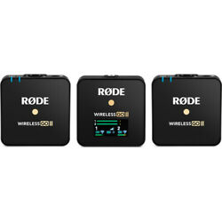 Rode Wireless GO II Dual-Channel Microphone System