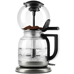 Kyпить KitchenAid Siphon Coffee Brewer Medallion Silver K04F Free Shipping на еВаy.соm