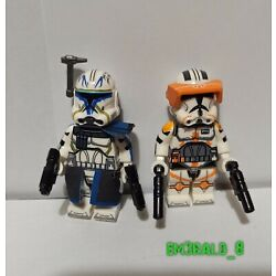 Kyпить Star Wars The Clone Wars Captain Rex and Commander Cody Minifigure Lot на еВаy.соm