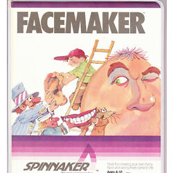 FACEMAKER for Commodore 64 by SPINNAKER NEW
