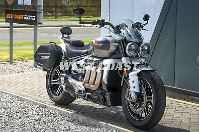 2020 TRIUMPH ROCKET 3 GT in SILVER ICE and STORM GREY