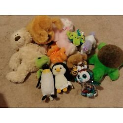 Kyпить Stuffed Animal Lot Penguin Turtle на еВаy.соm