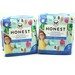 Kyпить The Honest Company Toddler Training Pants Animal ABCs Size 4T-5T 2 Pack of 19 на еВаy.соm
