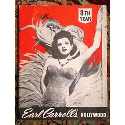 Kyпить 1946 EARL CARROLL'S HOLLYWOOD Pin-Up Showgirls on Stage PROGRAM Beryl Wallace на еВаy.соm