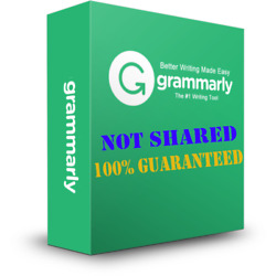 Kyпить Grammatically Checker Grammarlly Premium Account - 100% NOT SHARED на еВаy.соm