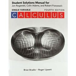 Student Solutions ONLINE Manual for Calculus Single Variable(4th Edition)
