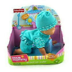 NOS Fisher Price 2008 Little Mommy Real Loving Baby SCOOT SO CUTE Doll