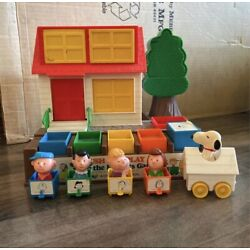 Kyпить Vintage 1966 Push and Play with the Peanuts Gang -Child Guidance Toy на еВаy.соm