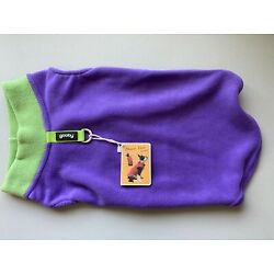 Gooby Fleece Dog Vest Pullover Jacket Sweater w/Leash Ring XL BREED 20-25 Pound