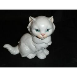 Kyпить Goebel white cat, marked with 1988 and 62154 Blue Eyes на еВаy.соm