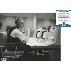 Kyпить EUGENE GENE KRANZ NASA FLIGHT DIRECTOR SPACE SIGNED 8x10 PHOTO BECKETT BAS COA на еВаy.соm