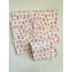 Kyпить Pottery Barn Kids 3 Standard Pillowcases Pink Butterfly Pattern 100% Organic на еВаy.соm