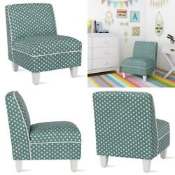 Kyпить Corinna Kid Size Seafoam Green Polka Dots Slipper Chair на еВаy.соm