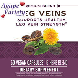 Nature's Way Leg Veins Support Blend; with Tru-OPCSTM; 60 Count (Pack of 1)