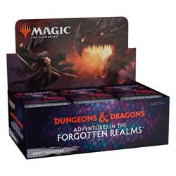 Kyпить Draft Booster Box Adventures in the Forgotten Realms AFR SEALED MTG 7/23 на еВаy.соm