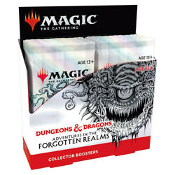 Kyпить Collector Booster Box Adventures in the Forgotten Realms AFR SEALED MTG 7/23 на еВаy.соm