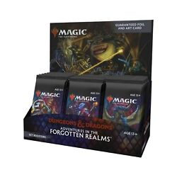 Kyпить Set Booster Box 30 ct Adventures in the Forgotten Realms AFR SEALED MTG 7/23 на еВаy.соm