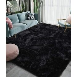 Luxury Fluffy Big Area Rug Modern Shag Rugs for Bedroom Living Room in 4 colors