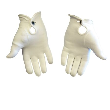 img-British Army Surplus Ceremonial Gloves Cotton knitted white