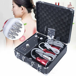 Electric Cupping Massage Guasha Suction Scraping Massager Body Device US Plug
